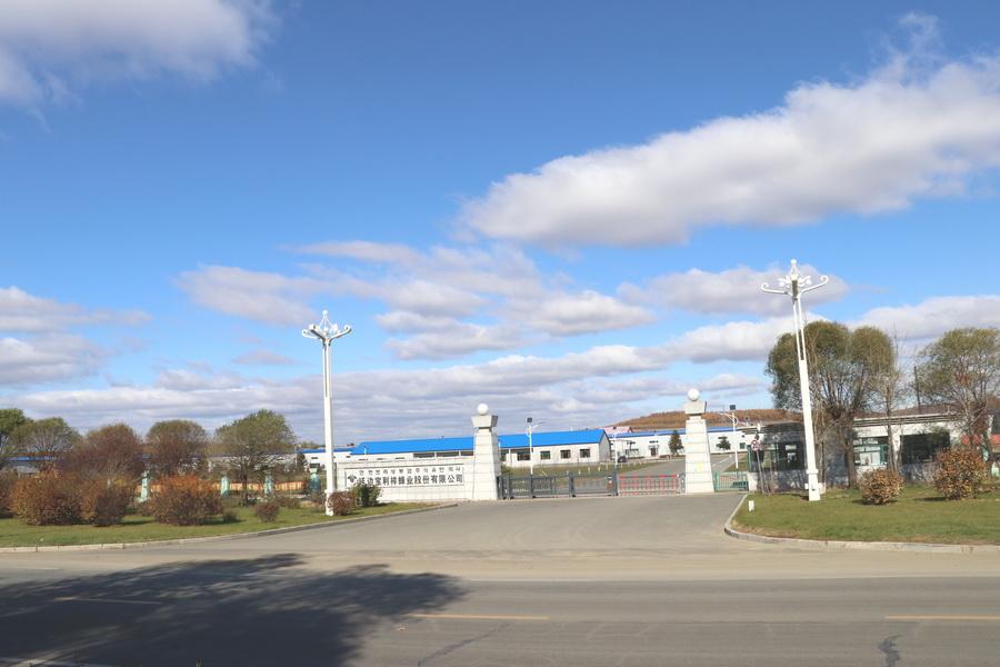 工厂搬迁至敦化市经济开发区,占地面积为9万平方米